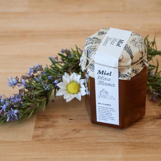 miel artesana mil flores