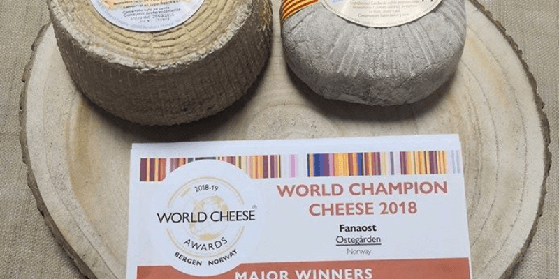 Quesos Benabarre, medalla de bronce en World Cheese Awards 2018